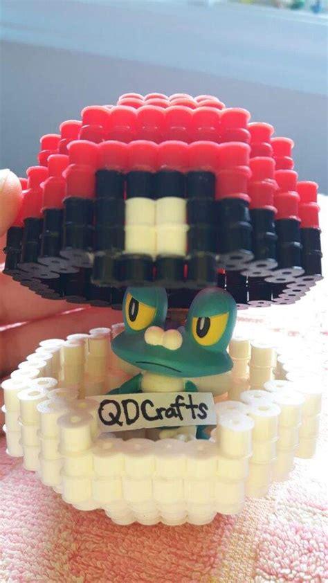Open Circle Aksesoris Hama Perler 3d perler bead pok 233 it can open pok 233 mon amino