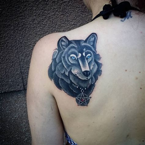 wolf face tattoo designs 95 best tribal lone wolf designs meanings 2018