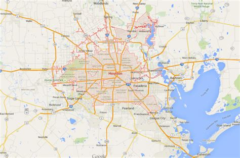 houston map compared to other cities houston and why the wrong planning regime can