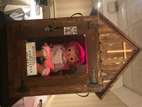 annabelle doll in museum travel thru history not so gems of new