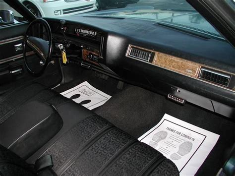 interior 1971 chevrolet caprice spaceships