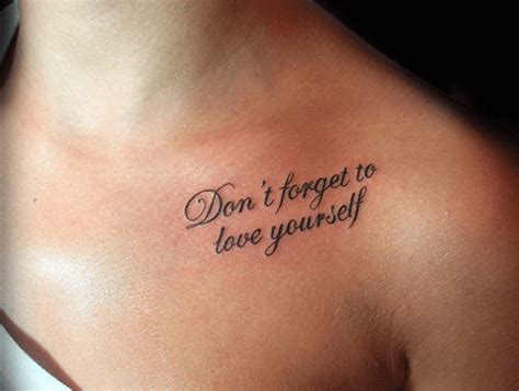 tattoo quotes about self love 20 short quotes for tattoos about love for him her