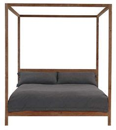 world market canopy bed gray marlon queen canopy bed modern farmhouse cost plus