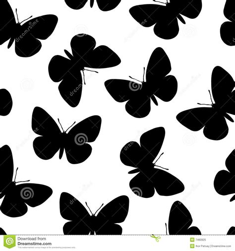 black and white butterfly pattern seamless butterfly pattern stock vector image of animal