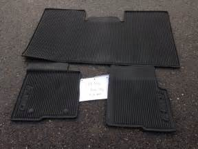 Ford Floor Mats All Weather Northwest Ford Oem All Weather Floor Mats Supercrew