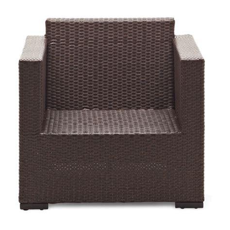 strathwood outdoor furniture strathwood griffen all weather wicker chair brown