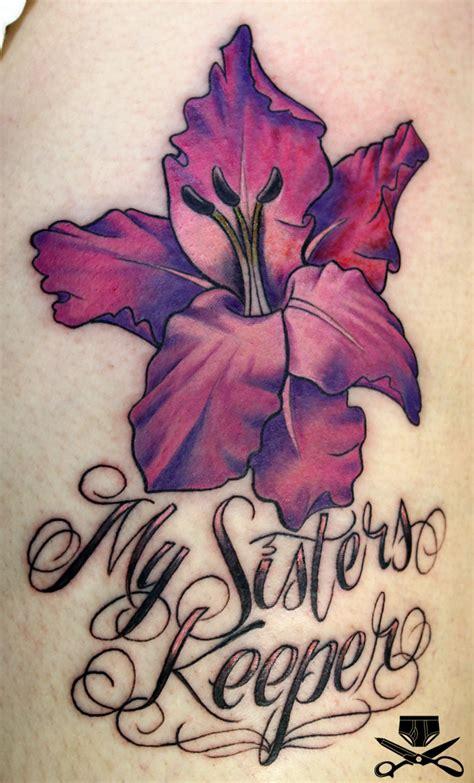 my sister s keeper tattoo my keeper hautedraws