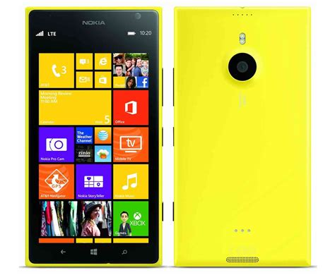 yellow nokia lumia 1520 at t nokia lumia 1520 now getting its windows 10 mobile