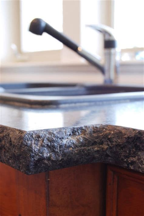 Copper Granite Countertop by Want This Edge Granite Countertops With A Copper