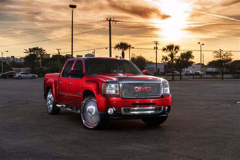 pozso auto 100 lifted gmc red wheel offset 2002 gmc sierra
