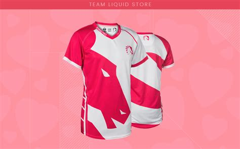 Jersey Team Liquid 2017 Light is in the air pink jersey available team liquid
