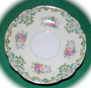 Classic China Patterns by Vintage Noritake China Saucer Luxoria Pattern Bears The