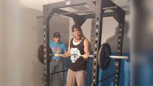 Squat Rack Bench Press How To Build A Home Power Rack Diy Dudes Youtube
