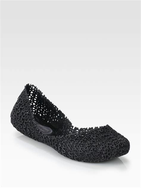 jelly flats shoes cana woven jelly ballet flats in pink black