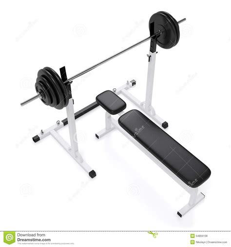 good weight for bench press weight bench press stock photo image of physical iron