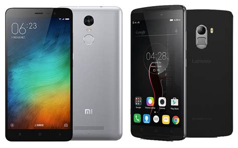 Lenovo K4 Note Vs Xiaomi Redmi Note 3 Lenovo K4 Note News News On Lenovo K4 Note