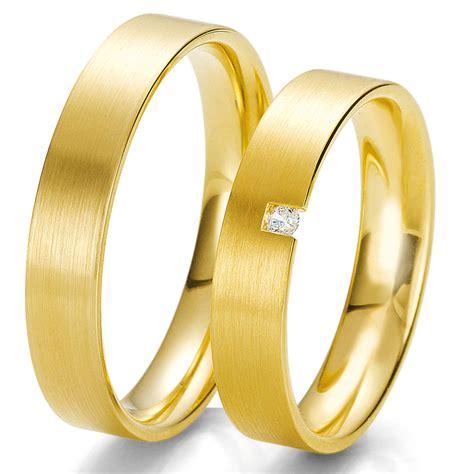 Trauringe Gelbgold 585 by Eheringe Trauringe Breuning 585 Gelbgold Gold 48 06213