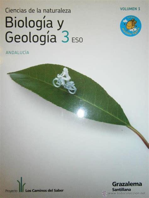 biologa y geologa 3 biologia y geologia 3 eso 4 tomos santillana comprar libros de paleontolog 237 a y geolog 237 a en