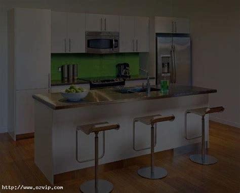 Minimalist Wooden Flooring Small Condo Kitchen Designs