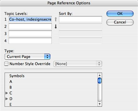 indesign creating an index find out what an index entry is indesignsecrets com