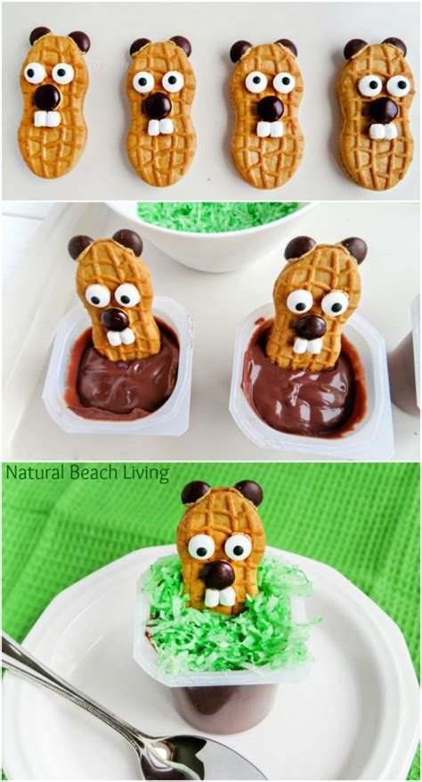 groundhog day food the cutest groundhog day snack idea for
