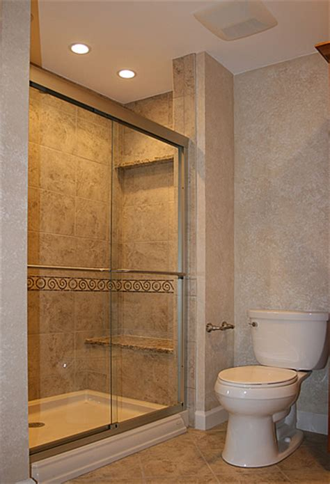 small bathroom shower stall ideas home design small basement bathroom designs small