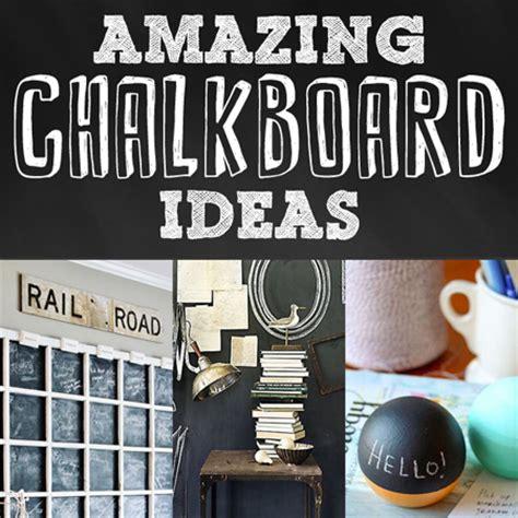 chalkboard paint craft ideas amazing chalkboard ideas diy projects the cottage market