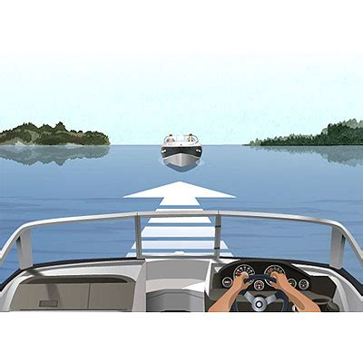 boating right of way canada canada s boating license practice test boatsmart