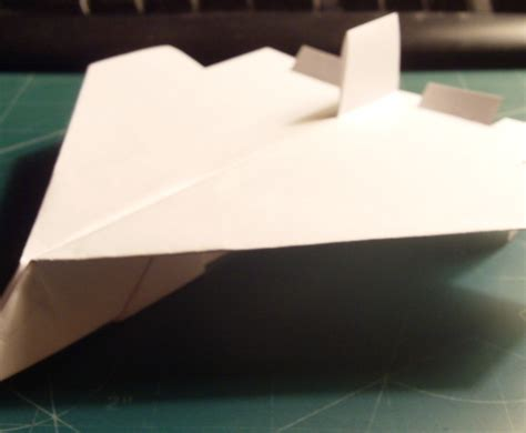Make The Paper - how to make the ultraspectre paper airplane 3
