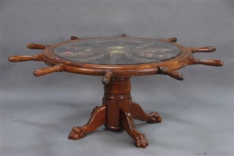 Ship Wheel Coffee Table Coffee Table Design Ideas Coffee Table With Wheel