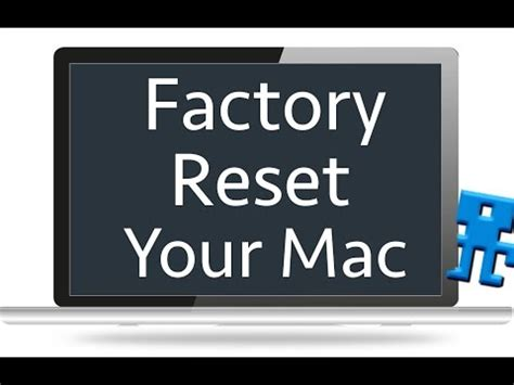 format factory mac yosemite how to factory reset hard reset your macbook pro