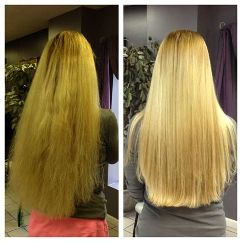brazaillan blowout for curly hair before after brazilian blowout hair pinterest
