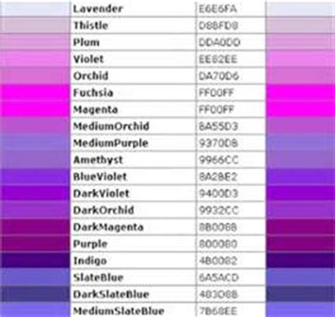 violet color code violet html color code images all things colorful