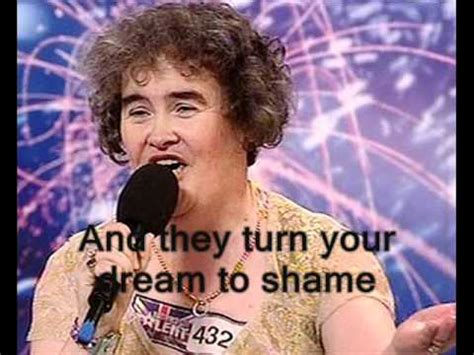 susan boyles first audition i dreamed a dream britain susan boyle i dreamed a dream first performance with