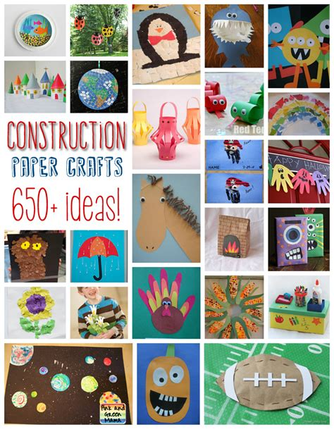 Crafts With Construction Paper - crafts with construction paper ye craft ideas