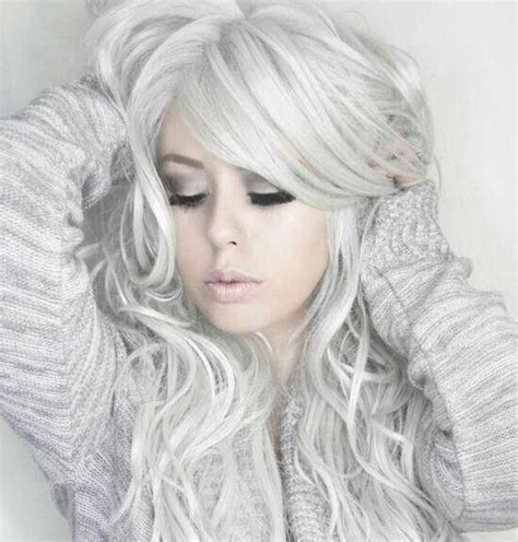 Hairstyles If Silver White | 59 best images about silver hair on pinterest comb over