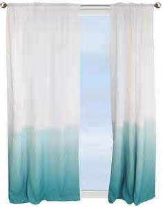 Aqua Sheer Curtains Curtains