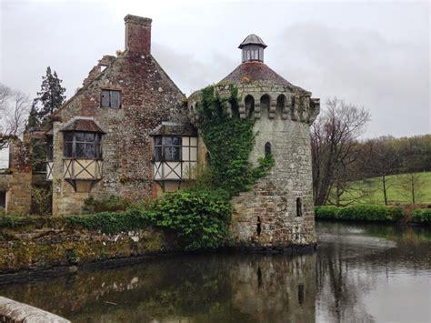 old castle national trust scones scotney castle