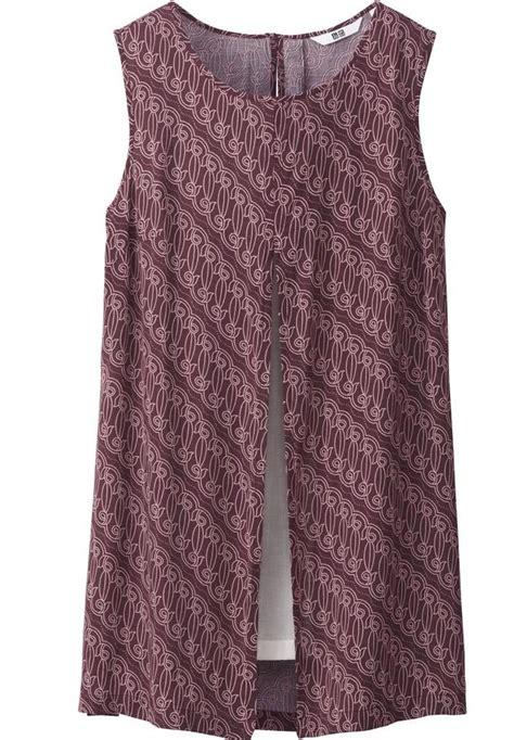 Set Dress Motif Batik 702 Check Out This Batik Collection From Uniqlo Star2