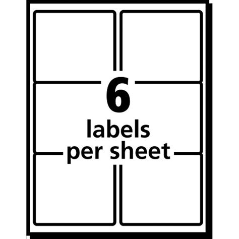 avery template 5264 avery 174 white shipping labels for laser printers with