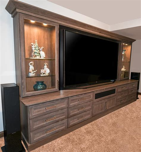 custom home theater media center home theater cabinet media center and home theater storage system for family room