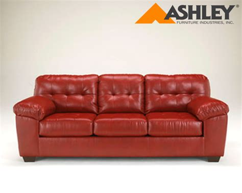 ashley sofa cover ashley 174 alliston durablend 174 salsa replacement cushion
