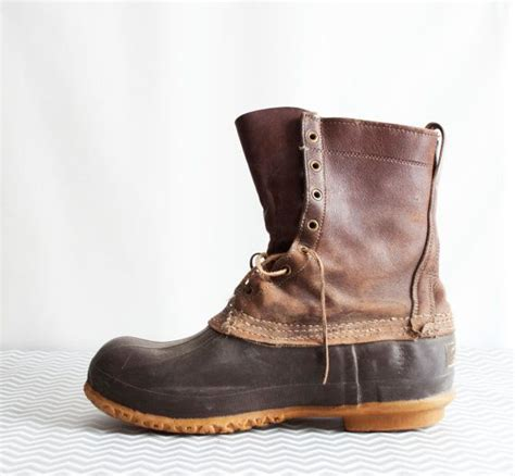 ll bean boots mens vintage ll bean boots s 1960s or 1970s photo prop or