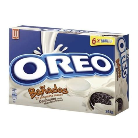 Oreo White Choc By Magshop new oreo cookies covered milk or white chocolate several