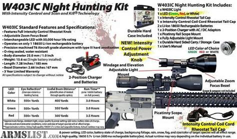 wicked hunting lights for sale armslist for sale wicked hunting lights