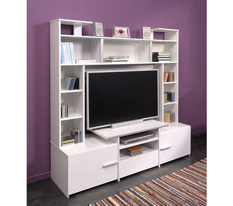 Meuble Tv Forum by Meuble Tv Forum 009527 Blanc Meubles Tv But