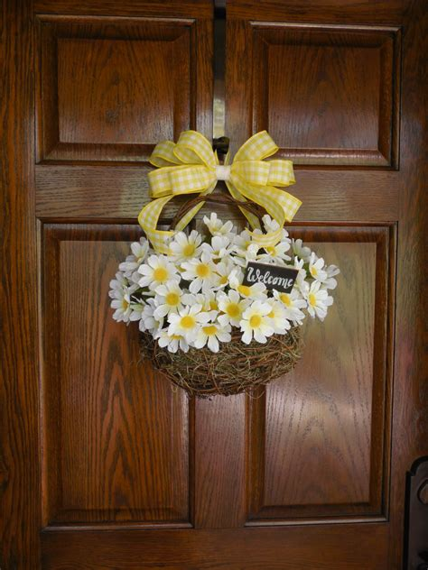 Summer Door Wreath by Summer Door Wreath Summer Wreaths Summer Floral By