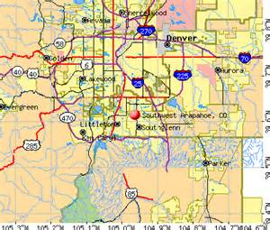 arapahoe county colorado map images