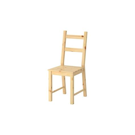 ikea chair ivar pine solid kitchen chair dining room