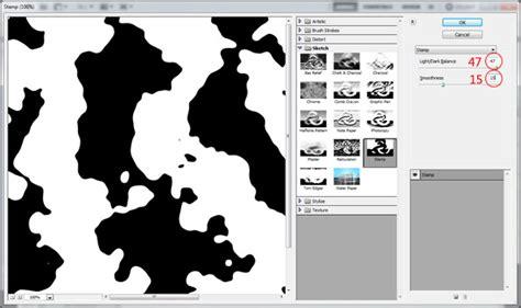 membuat efek stempel teks dengan efek stempel karet klasik grafisia